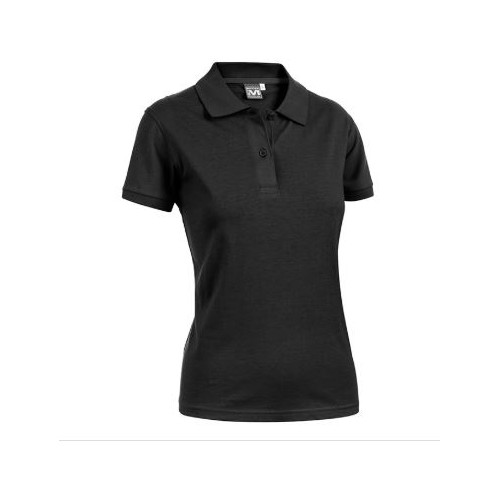 POLO DONNA ANGY JERSEY NERA