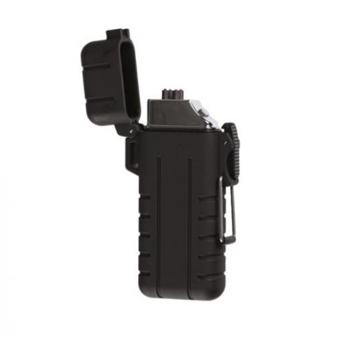 ACCENDINO USB TROBERG® 'ATOMIC X-ARC' NERO