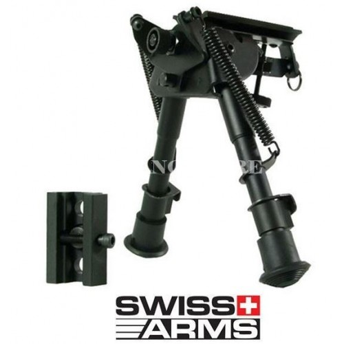 BIPIEDE SWISS ARMS UNIVERSALE METALLO